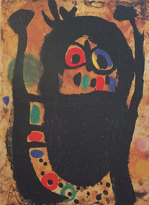 Joan Miro, Woman with Jewels