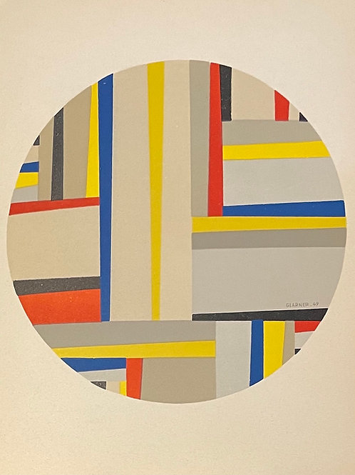 Fritz Glarner - Lithograph