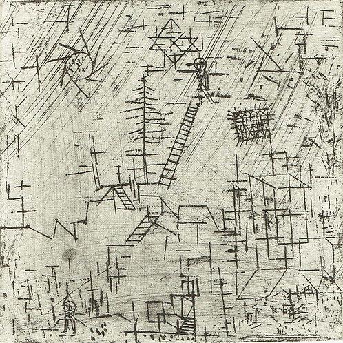 Paul Klee -  Juggler in April