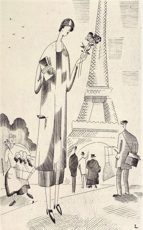 J E Laboureur,  Jean Giraudoux