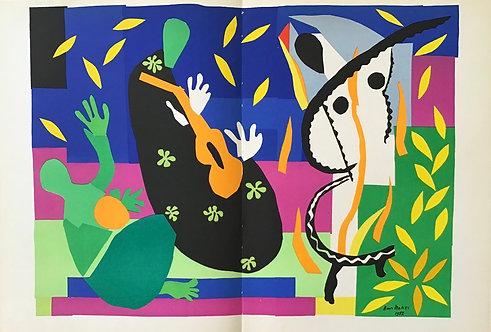 Henri Matisse - Lithograph -  Tristesse du Roi