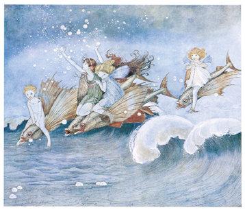 Ida Rentoul Outhwaite, The Sea Fairies