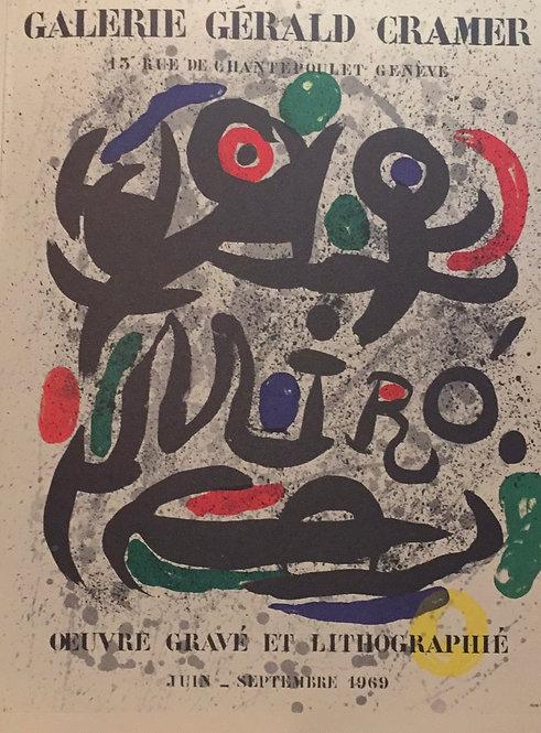Joan Miro, Poster IV