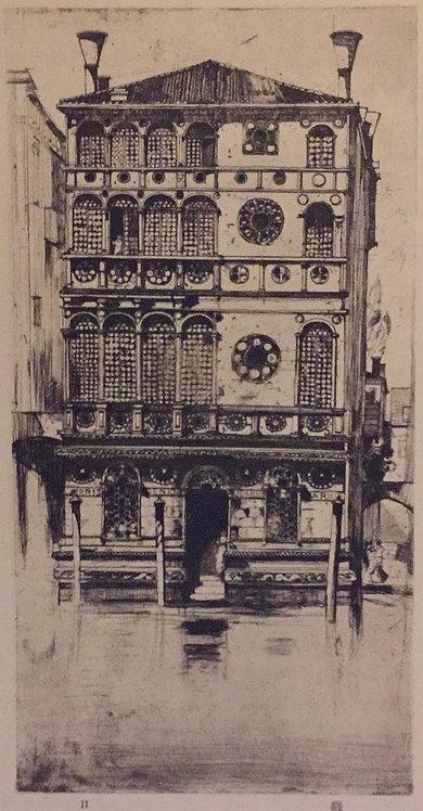 D Y Cameron, Palazzo Dario