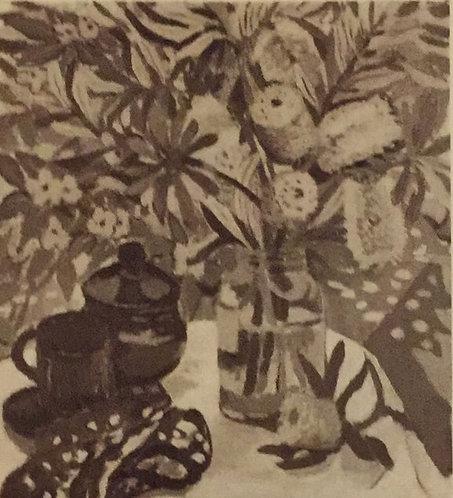 Margaret Preston, Banskia/ Still Life, 1927 reproduction