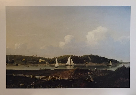 Fitz Hugh Lane, Fresh Water Cove from Dolliver's Neck