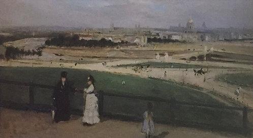 Berthe Morisot, View of Paris from the Trocadero, 1871-2