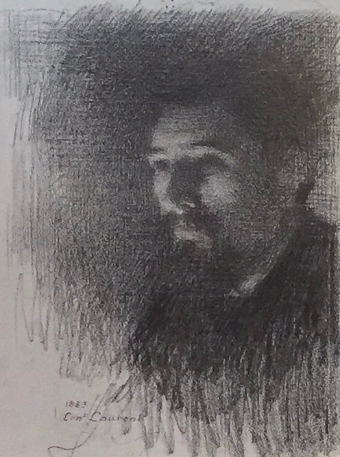 Ernest Joseph Laurant; Georges Seurat, Study for Scene at the Brook