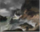 Horace Vernet Stormy Coast Scene after a Shipwreck c1820
