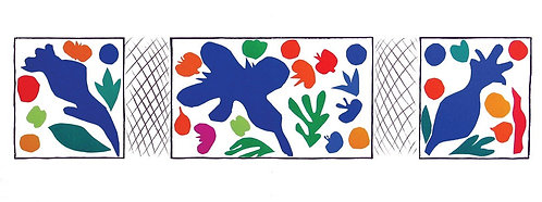 Matisse -  Lithograph - Coquelicots