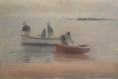 Clarice Beckett, Misty Evening, Beaumaris