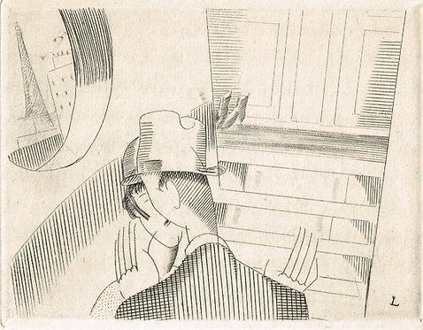 J E Laboureur - 1925 Gavure