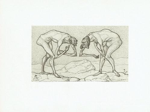 Paul Klee - Two Men Meet