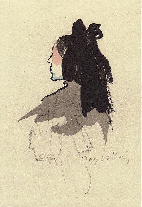 Jacques Villon, L'alsacienne