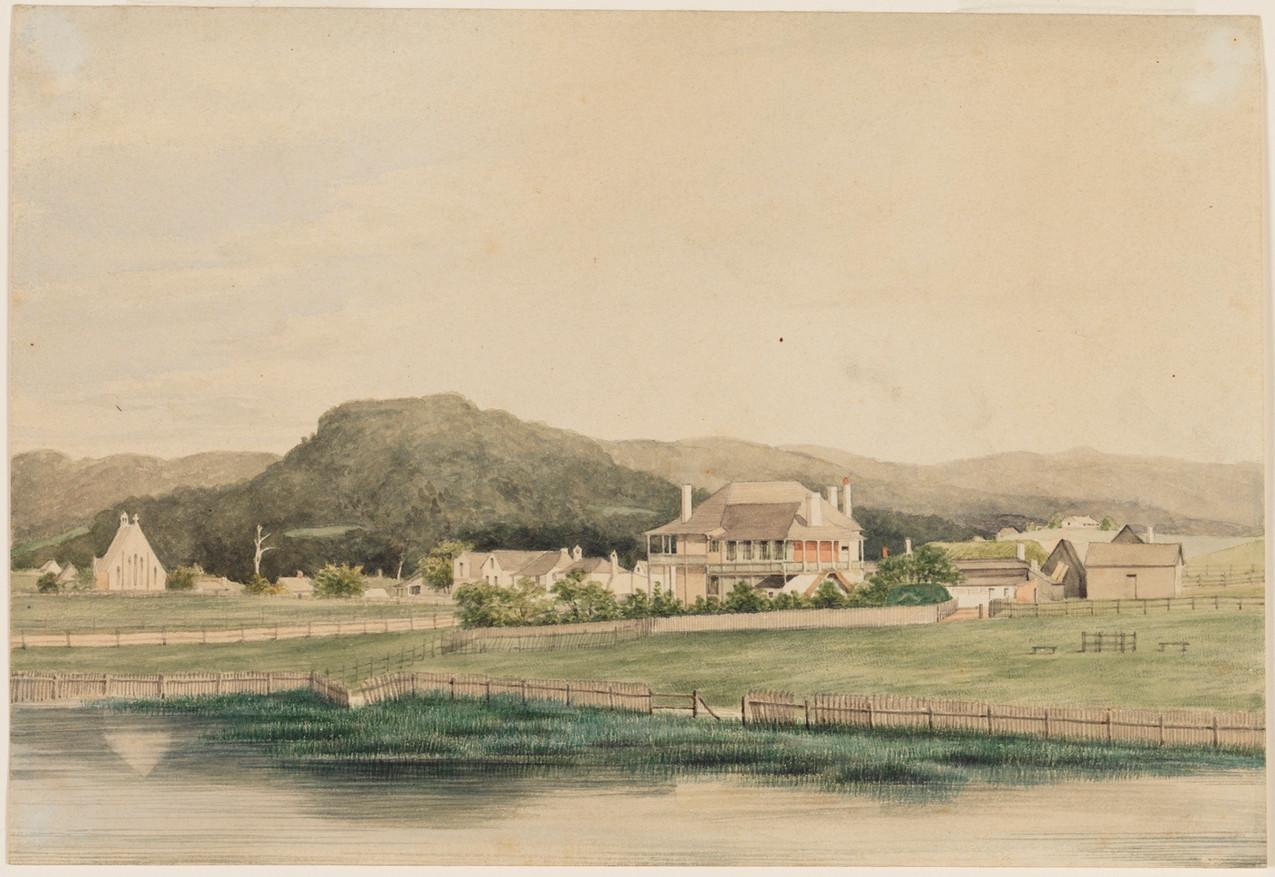 J G Sawkins,  Wollongong Hotel, 1852-53
