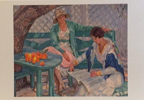 Hilda Rix Nicholas, The Summer House
