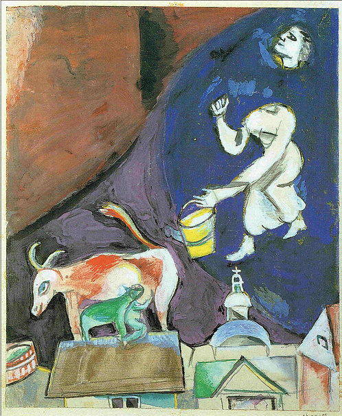 Marc Chagall, Me and my village II