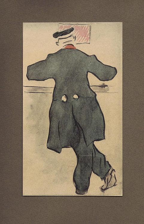 Jacques Villon, Au bureau de poste