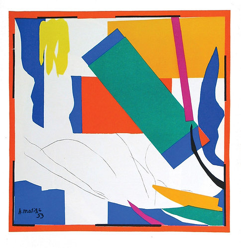 Matisse -  Lithograph - Souvenir D'oceanie