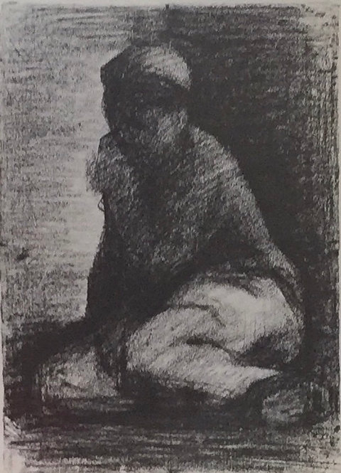 Georges Seurat, Crouching Boy