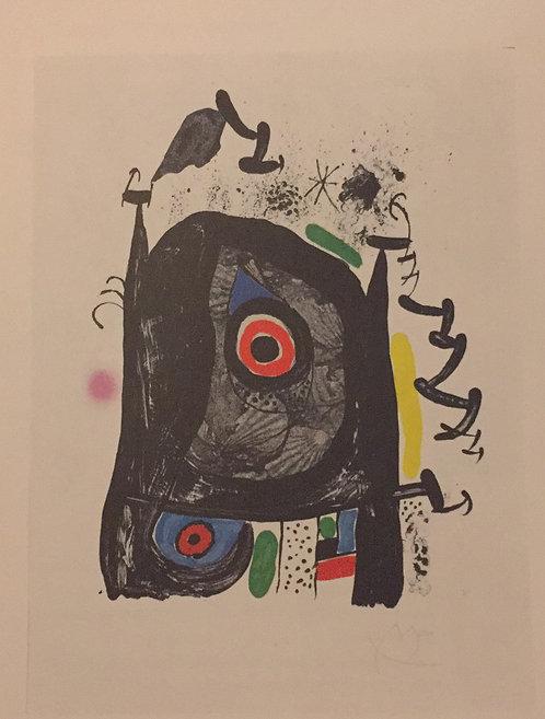 Joan Miro, The Pilgrim from Compostela