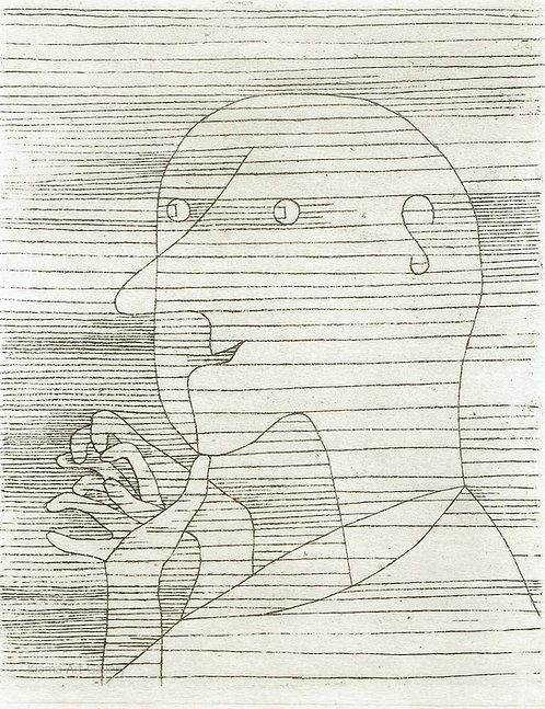 Paul Klee -  Old Man Figuring