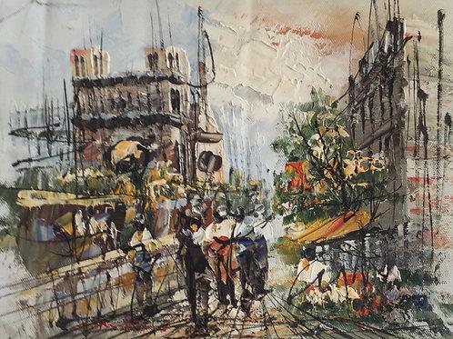 Artist Unknown, Montmartre, Paris
