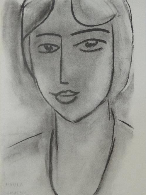 Matisse -  Lithograph - Paula