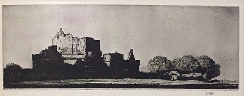 D Y Cameron, Craigmiller Castle
