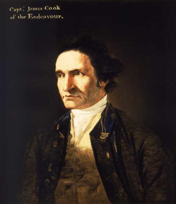 (Accredited to) William Hodges, Captain James Cook, c1775