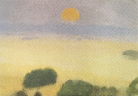 Clarice Beckett, Summer Fields