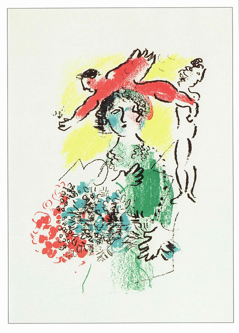 Marc Chagall, Illustration from Les Ateliers de Chagall