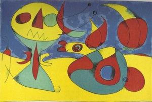 Joan Miro,Zephr Bird