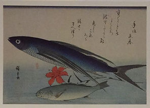 Utagawa Hiroshige postcard