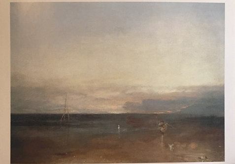 J M H Turner, Rocky Bay with Figures