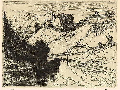 Sir Francis Seymour Haden, Kilgaren Castle
