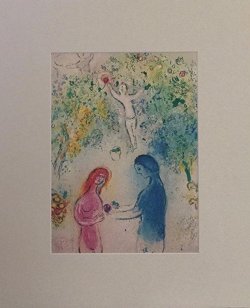Marc Chagall - Mounted Print III