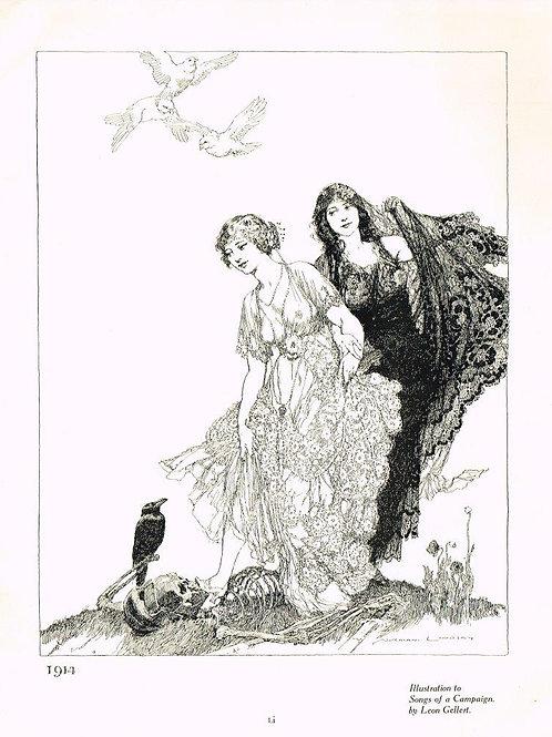 Norman Lindsay Illustration 1