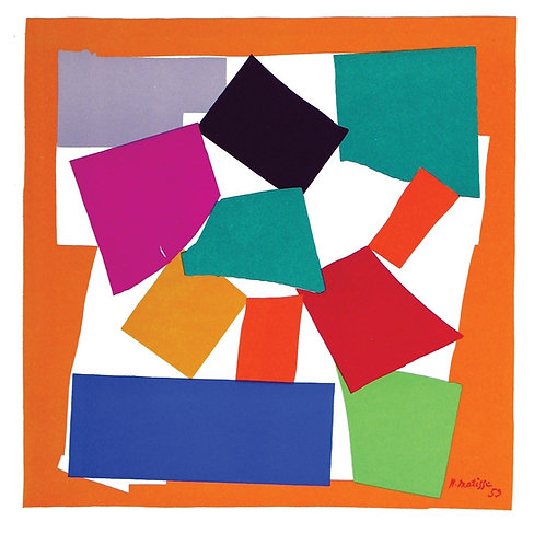 Matisse -  Lithograph - L'Escargot