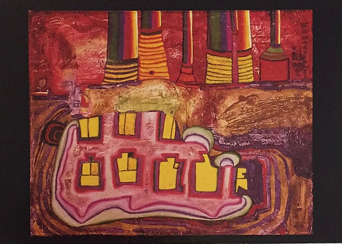 Hundertwasser, The Seven Prosperous years of the Mole