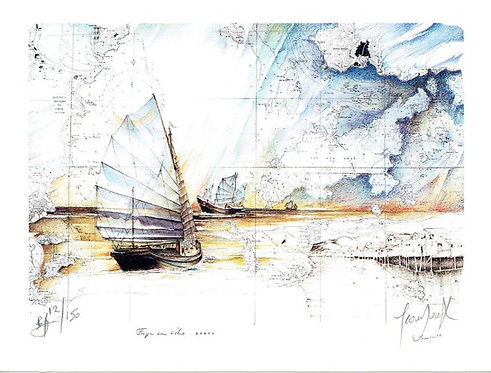 Jean Doat - Limited Edition Lithograph