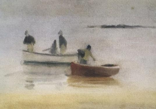 Clarice Beckett, Misty Evening Beaumaris