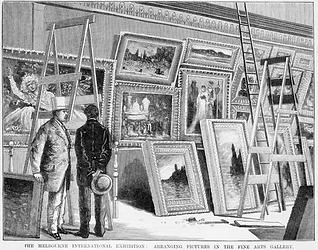 The Melbourne International Exhibition 1
