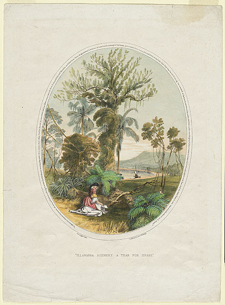 George French Angas, Ilawarra scenery, A