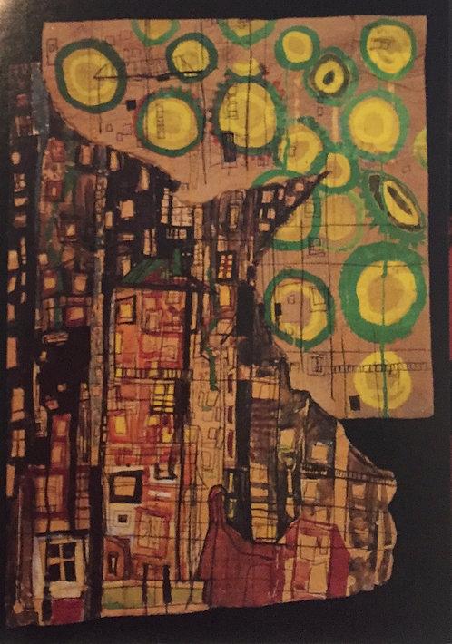 Hundertwasser, The Sunflowers and the City