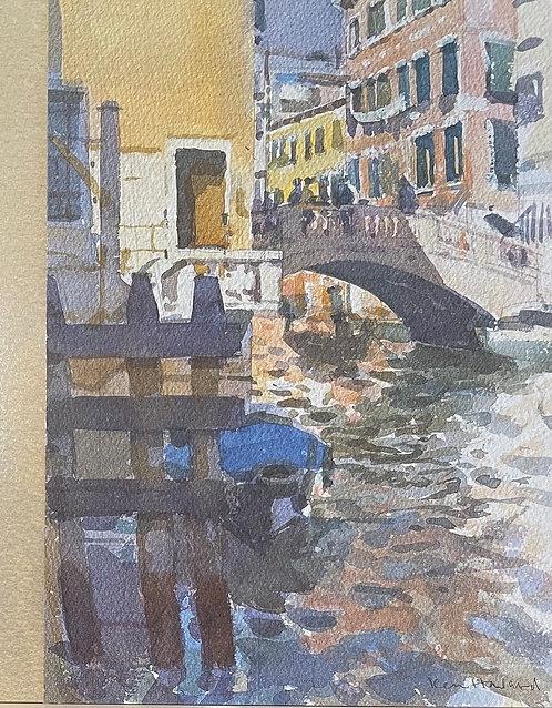 Ken Howard, Rio di San Paolo, Venice, 1996