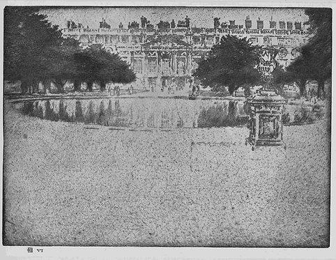 Joseph Pennell,  Hampton Court Palace