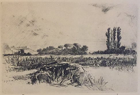 Sir Francis Seymour Haden, A Water Meadow