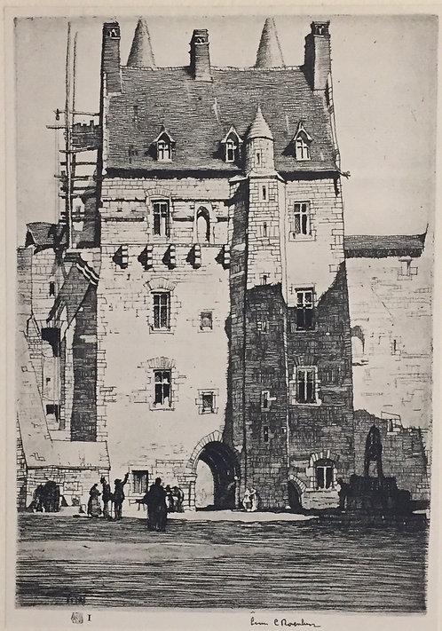 L C Rosenberg, Chatelet De Vitre