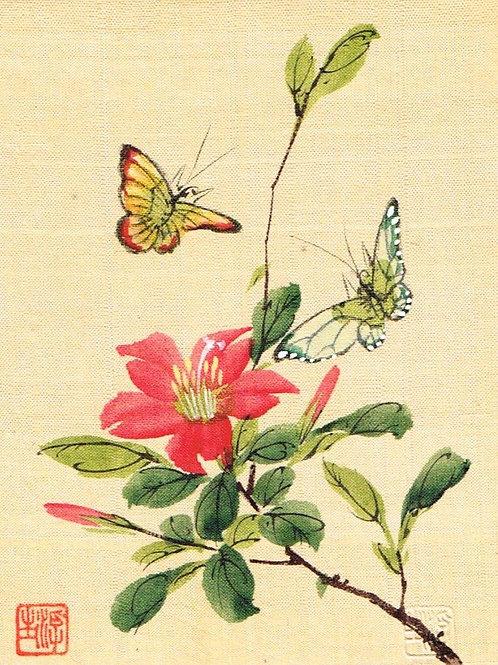 Japanese Painting on Silk 6